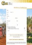 Bulletin d'adhésion du CARI